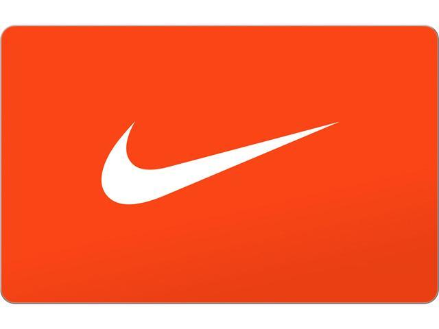 Seguro Onza He reconocido  Nike $75 Gift Card (Email Delivery) - Newegg.com