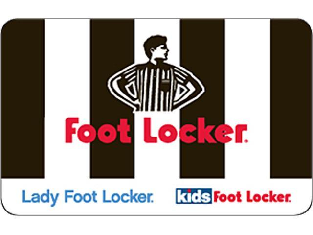 Foot Locker  100 Gift Card (Email Delivery) - Newegg.com b9c4a4d1b