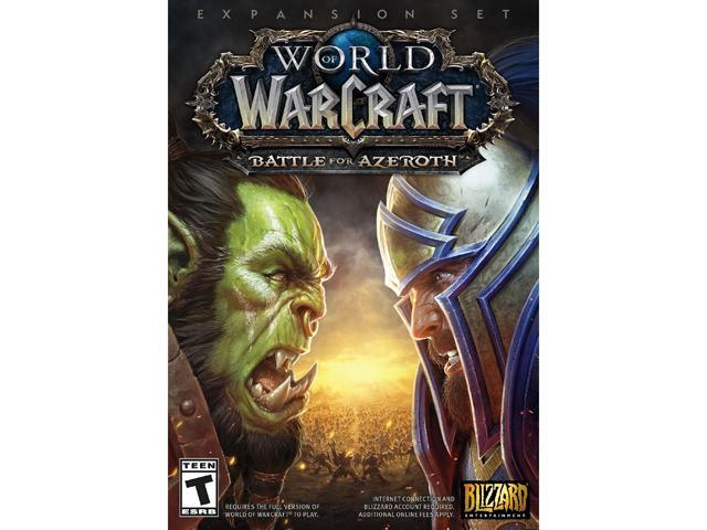 World of Warcraft Battle for Azeroth - PC - Newegg com