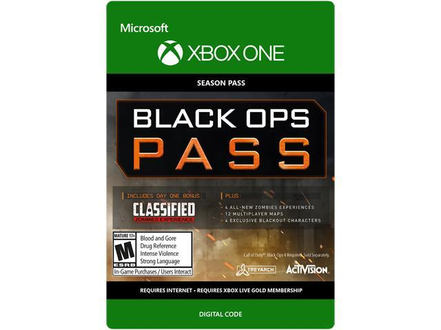 Call Of Duty Black Ops 4 Black Ops Pass Xbox One Digital Code