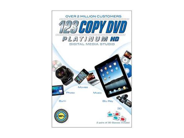 Bling Software 123 COPY DVD PLATINUM (2012) Audio & Video Editing Software  - Newegg com