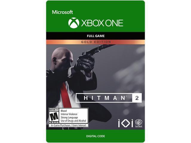 Hitman 2 Gold Edition Xbox One Digital Code Newegg Com