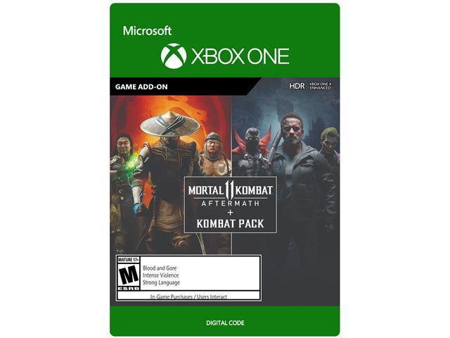 Mortal Kombat 11 Aftermath Kombat Pack Xbox One Digital Code