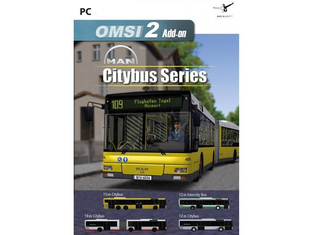 OMSI 2 Add-On MAN Citybus Series [Online Game Code] - Newegg com