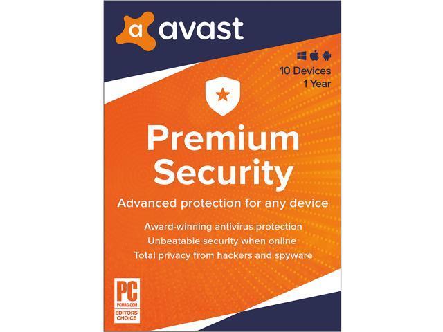 Avast Premium Security 2021 5 Devices 1 Year Digital
