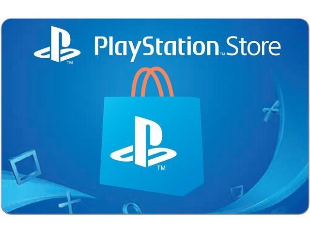 Playstation Store 25 Gift Card Email Delivery Newegg Com