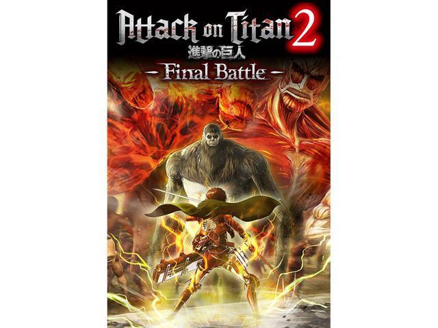 Attack on Titan 2: Final Battle [Online Game Code] - Newegg com
