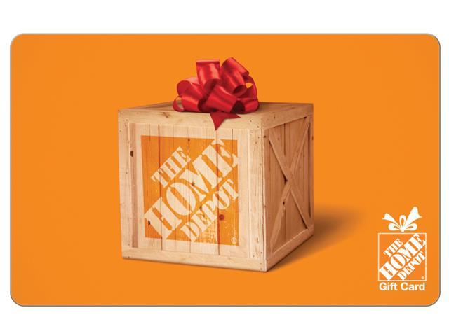 $100 eGift Card Home Depot + $10 Vanilla eReward VISA gift card