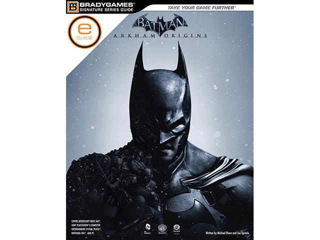 batman arkham origins strategy guide digital e guide newegg com rh newegg com batman arkham origin guide batman arkham origins signature series strategy guide