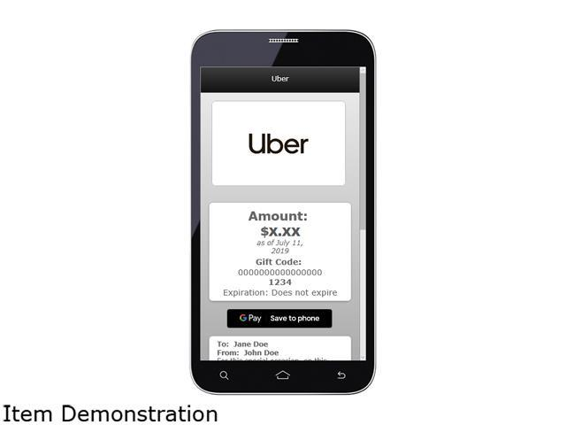 graphic relating to Printable Uber Trade Dress identified as Uber $15 Present Card (E mail Transport) -