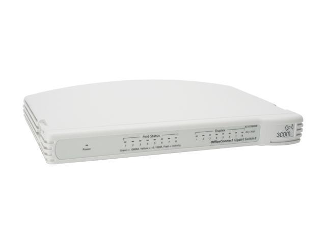 OfficeConnect Gigabit Switch 8