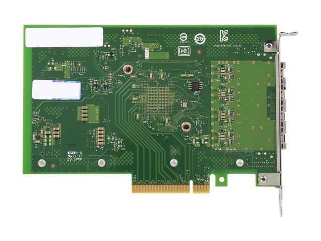 Intel Ethernet Converged Network Adapter X710-DA4 FH - Newegg com