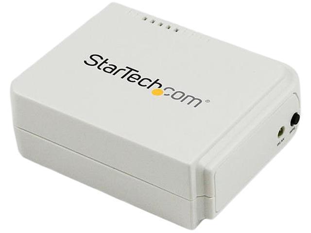 StarTech com 1 Port USB Wireless N Network Print Server with 10/100 Mbps  Ethernet Port - 802 11 b/g/n - Wireless USB 2 0 Print Server - Newegg com