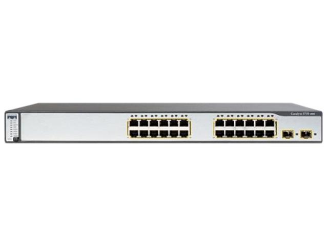 CISCO WS-C3750G-24PS-E Catalyst 3750 Switch - Newegg ca