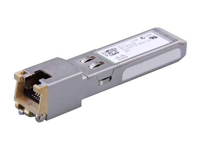 GENUINE CISCO GLC-T SFP to RJ45 GBIC Gigabit Transceiver 1000Base-T 30-1410-03