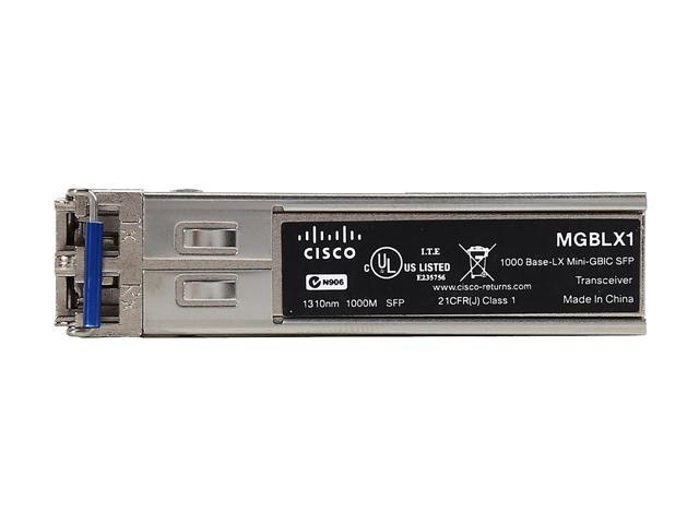 Cisco Small Business MGBLX1 1000BASE-LX SFP Transceiver - Newegg com