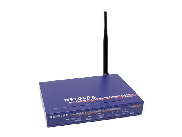 NETGEAR FWG114P 802 11g Wireless VPN Firewall - Newegg com