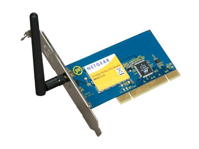 NETGEAR WIRELESS G PCI ADAPTER WG311 WINDOWS 7 DRIVER