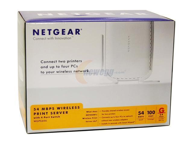 NEW DRIVER: NETGEAR PRINT SERVER WGPS606