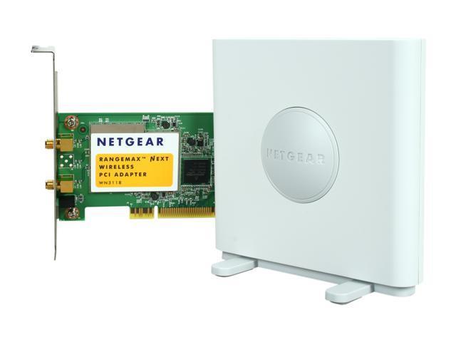 NETGEAR WN311B-100NAS PCI N300 Wireless Adapter - Newegg com