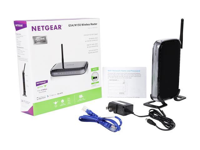 NETGEAR WNR1000-100NAS N150 Wireless Router - Newegg com