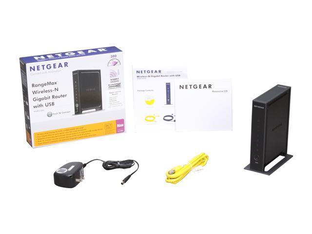 NETGEAR WNR3500L-100NAS Wireless-N Router RangeMax Opensource with USB -  Newegg com