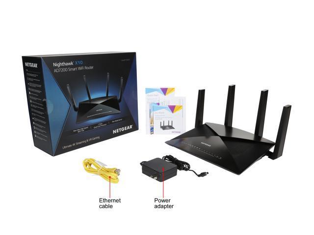 NETGEAR R9000 Nighthawk X10 AD7200 Quad-Stream MU-MIMO Wireless Router -  Newegg com