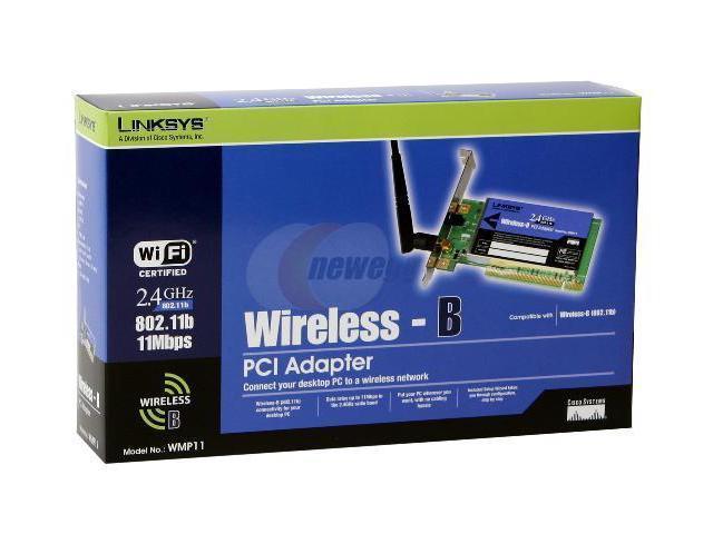 LINKSYS WMP11 WIRELESS PCI WINDOWS XP DRIVER