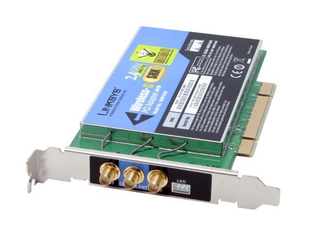 LINKSYS WIRELESS-G PCI ADAPTER WMP54GX DRIVER DOWNLOAD (2019)
