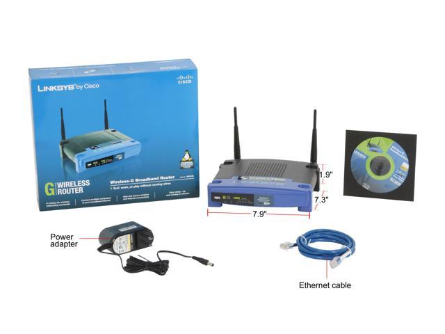 Linksys WRT54GL Wireless-G Broadband Router - Newegg com