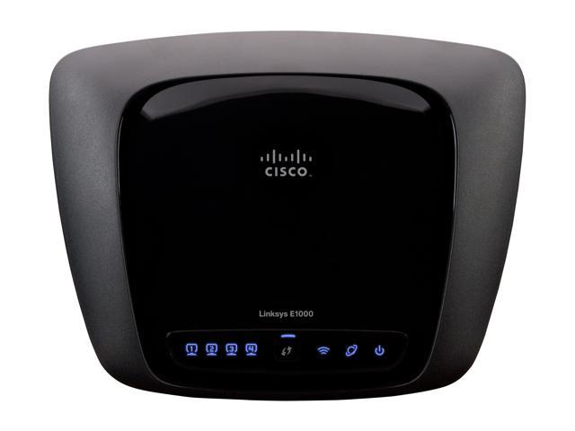 Linksys E1000 2 4GHz 300Mbps 2T2R Wireless Router - Newegg com