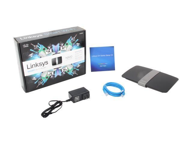 Linksys EA4500-NP SMART Dual-Band Wireless N900 Router - Newegg com