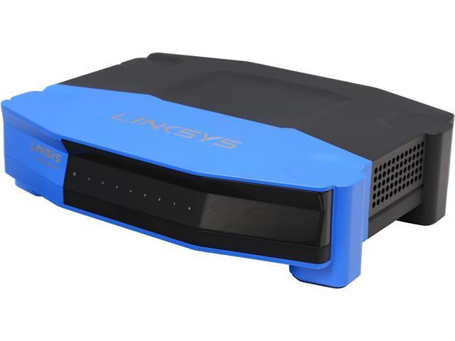 Linksys WRT 8-Port Gigabit Switch, Works with Linksys WRT1900AC Wi-Fi  Router (SE4008) - Newegg com