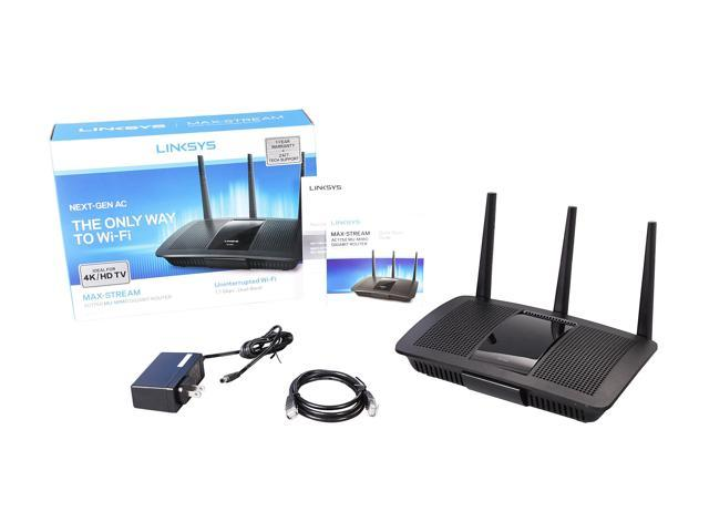 Linksys EA7300 MAX-STREAM AC1750 Next Gen MU-MIMO Smart Wi-Fi Router with  Seamless Roaming - Newegg com