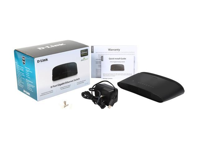 D-Link DGS-1008G Gigabit Desktop Switch
