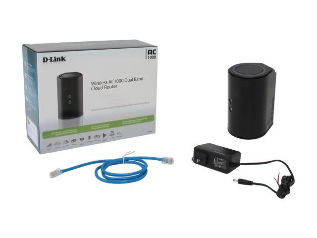 SLLEA AC//DC Adapter for D-Link Wireless AC1000 Mbps Cloud Dual-Band Router DIR-820L Replacement Switching Power Supply Cord Charger Wall Plug Spare