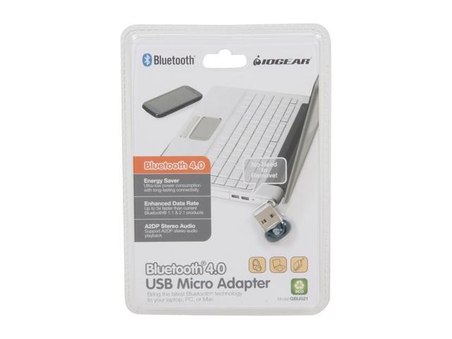 GBU521 IOGEAR USB Bluetooth 4.0 Micro Adapter Dongle with 30 ft Indoor Range