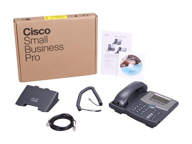 Cisco Small Business SPA504G 4 Line IP Phone With Display, PoE and PC Port  - Newegg com
