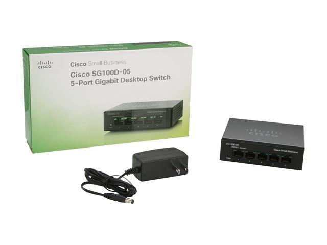 NEW Cisco SG110D-08-NA Switch 8 Port Gigabit Fanless Desktop