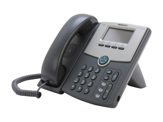 Cisco Small Business SPA512G 1-Line IP Phone with 2-Port Gigabit Ethernet  Switch / PoE / LCD Display - Newegg com