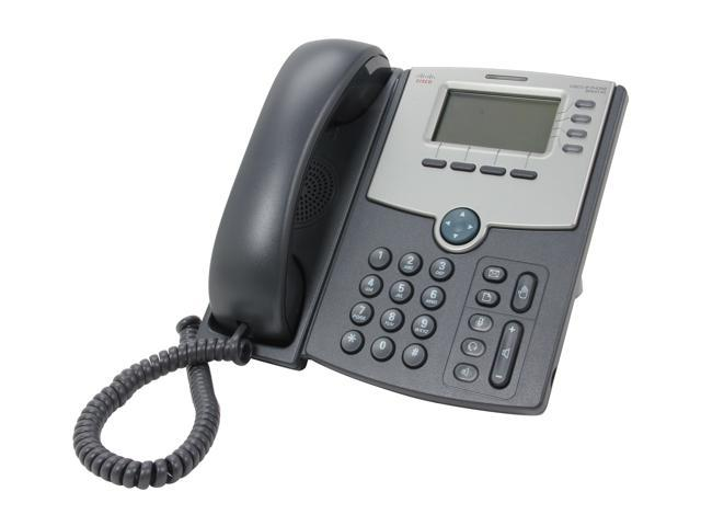 Cisco Small Business SPA514G 4-Line IP Phone with 2-Port Gigabit Ethernet  Switch / PoE / LCD Display - Newegg com