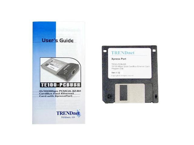 TE100-PCBUSR DRIVER FOR WINDOWS MAC