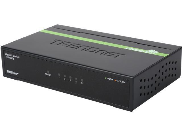 TRENDnet TEGS50G Unmanaged 5Port Gigabit GREENnet Switch Limited