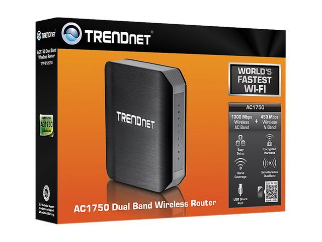 TRENDnet TEW-812DRU AC1750 Dual Band Wireless Router - Newegg com