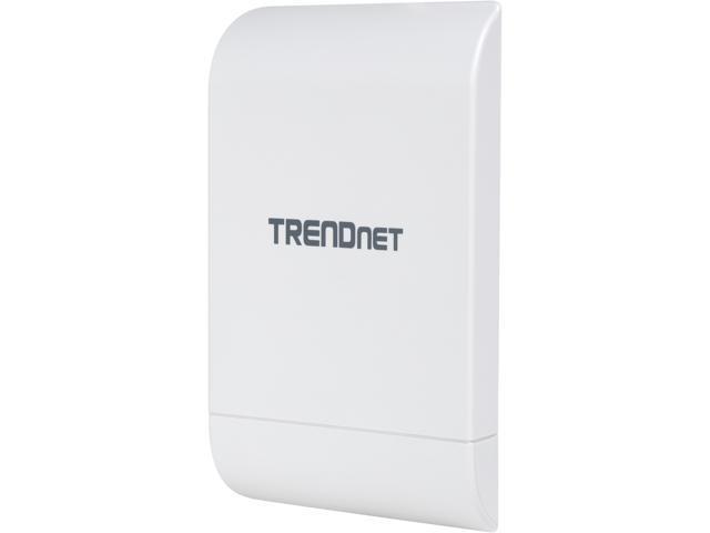 TRENDnet 10dBi Wireless N300 Outdoor PoE Preconfigured Point-to-Point Bridge Kit