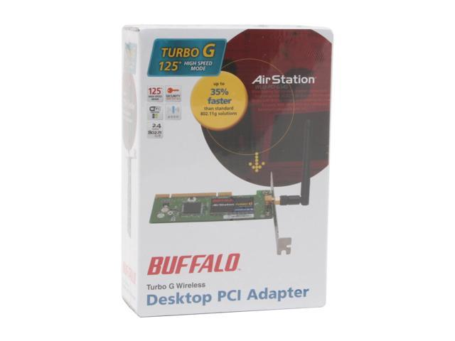 BUFFALO AIRSTATION TURBO G WLI2-PCI-G54S 64BIT DRIVER