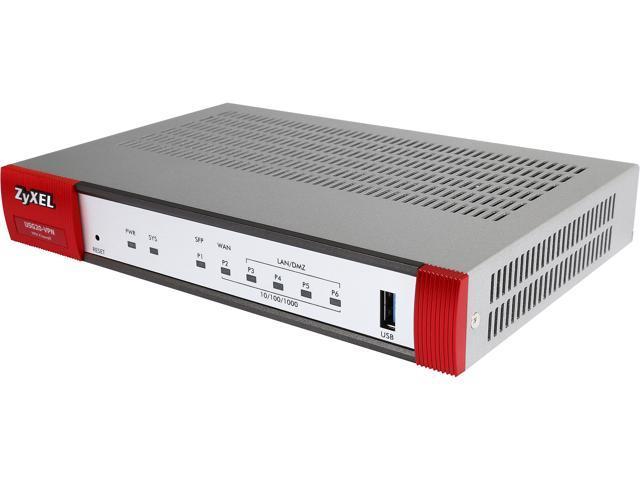 Zyxel usg vpn security router vpn firewall w sfp port newegg