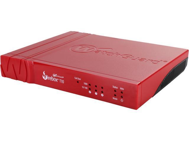 WatchGuard Firebox T10 Network Security/Firewall Appliance (1 YR  LiveSecurity) - Newegg com