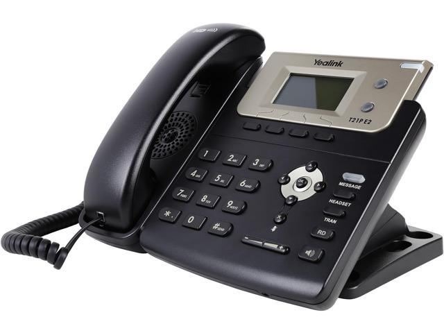 Yealink YEA-SIP-T21P-E2 Entry-level IP phone with 2 Lines & HD voice -  Newegg com
