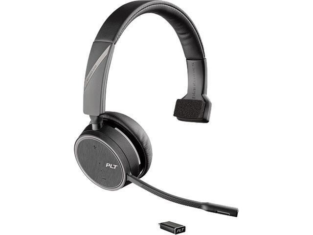 Plantronics Voyager Monaural 4210 Uc Bluetooth Headset With Usb Type C Adapter Newegg Com